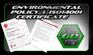 Environmental Policy & ISO14001 Certificate